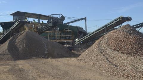 UVRCC - Usina de valorização de Resíduos de Construção Civil